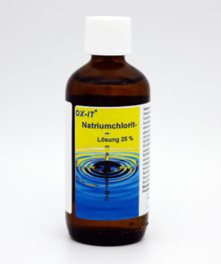 Natriumchlorit Lösung 25% 100 ml Glasflasche