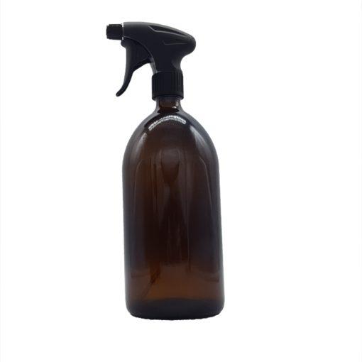 Sprühflasche Glas Desinfektion 1000 ml