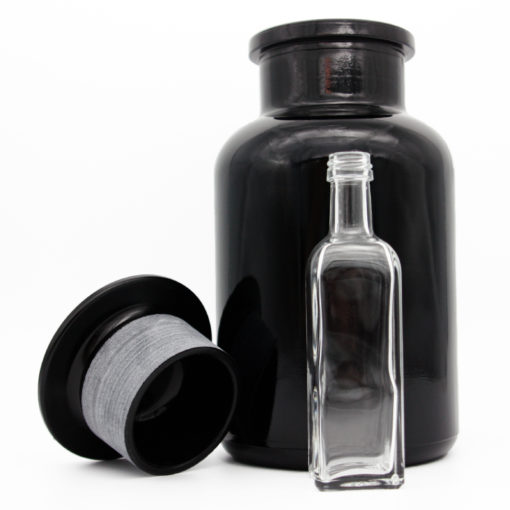 Mironglas Weithalsflasche