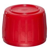 Verschluss PP28, 28 mm rot