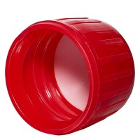 Verschluss PP28, 28 mm rot -Seitenansicht