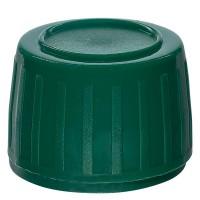 Verschluss PP28, 28 mm grün mit Dichteinlage